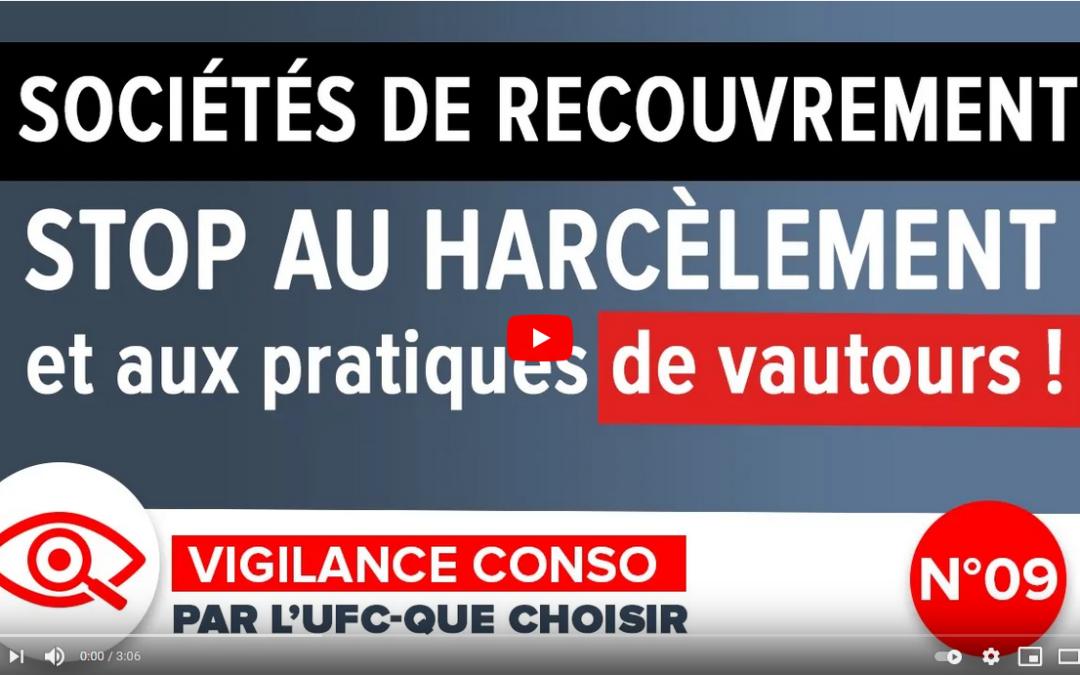 Sociétés de recouvrement – Stop au harcèlement et aux pratiques de vautours !